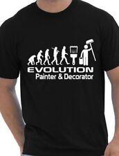 Evolution Of Painter & Decorator Funny Adult Mens T-Shirt  Birthday Gift S-XXL