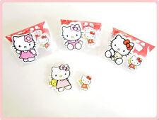 Hello Kitty rubber/eraser set