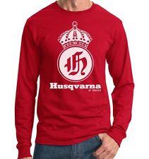 Husqvarna T-shirt Jersey Husky On any sunday vintage AHRMA Viking 360 McQueen