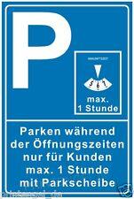 Schild,Parken Öffnungszeiten,Parkplatzschild,Privatparkplatz,Parkverbot, P235