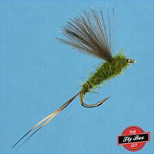 RS2 Emerger OLIVE Premium Fishing Flies - Dozen -Select Sizes***