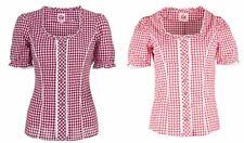 Spieth&Wensky Damen Trachtenbluse Petra wot weiss kraro Gr 34 bis 54 Bluse NEU