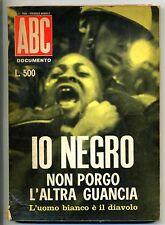 IO NEGRO NON PORGO L'ALTRA GUANCIA # S.E.A. N.6 1967