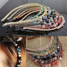 Hot Bead Crystal Headband Beautiful Womens Girls  Hair Head Band Accessories