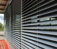 Z90 largeur: 600-2000mm; hauteur: 2100-3500mm,aluminium gris stores extérieurs +