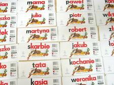 Nutella Namensaufkleber Polen