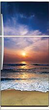 Aufkleber kühlschrank haushaltsgeräte dekor küche Liegend Sonne ref 653