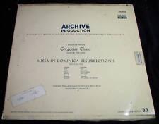 Gregorian Chant Missa Dominica Ressurrections LP German