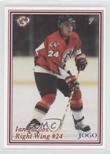 1999-00 Jogo Ottawa 67's #7 Ian Jacobs (OHL) Rookie Hockey Card