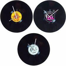 Vintage LP moderne Glas Wanduhr Schallplatte Analog Design glass Wall Clock Uhr