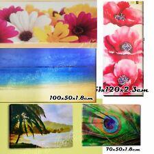 1 LARGE CANVAS PRINT WOOD BOX FRAME HOUSE DECORATION WALL ART PICTURE LANDSCAPE