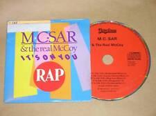 CD SINGLE / M.C.SAR & REAL MCCOY / IT'S ON YOU / RARE / TRES BON ETAT