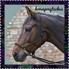 BITLESS PRESSURE ROPE HALTER BRIDLE WITH REINS,PARELLI NATURAL HORSEMANSHIP
