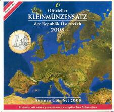 Austria 2008 - Official (BU) Euro Coin Set