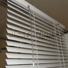 Aluminium Venetian Blinds, Size: 90x137cm, 25mm Slat, Colour: White