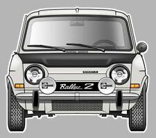 SIMCA 1000 Rallye 2 Sticker