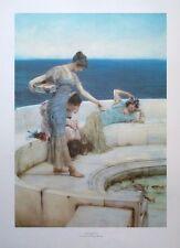 Silver Favourites - Lawrence Alma-Tadema 43x60cm vintage religious poster print