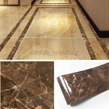 Wasserdichte Bodenfliese Aufkleber Wohnzimmer Nachahmung Marmor Dekoration