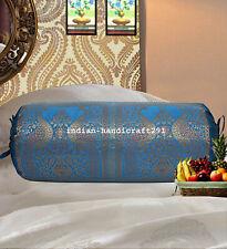 Traditional Bolster Cover Mandala Pillow Cushion Cylindrical Neck Design Bolster