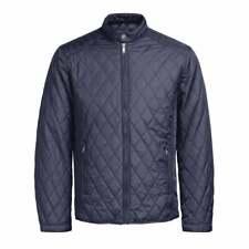 Jack & Jones Premium Quilted Mens Jacket Nikolai Navy