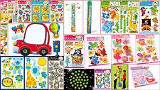 Pegatinas de pared para niños, sala de Decoración Deco pegatinas Animales Flores criterio