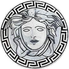 Mosaic Illustrative Medallion Versace