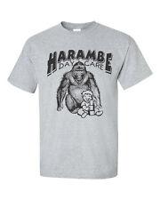 Harambe DAY CARE Gorilla Men's Tee Shirt 1506