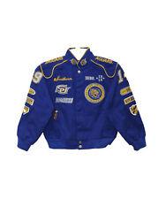 Southern University Jaguars YOUTH Logo and Mascot Crest Snap Racing Jacket