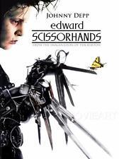 Edward scissorhands movie poster affiche film A4 A3 art print cinema #2
