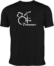 T-Shirt Drummer Schlagzeuger in 5 verschiedenen  Farben