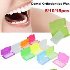 5/10/15 PCS Dental Orthodontics Wax Mint Mix Scent For Bracket Gum Irritation