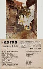 # S. VINCENT - VALLE D'AOSTA: Casa rustica ill. RAIMONDI - con foglietto KORES