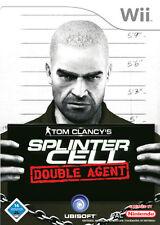 Tom Clancy's Splinter Cell: Double Agent (Nintendo Wii, 2006, DVD-Box)(H) 4