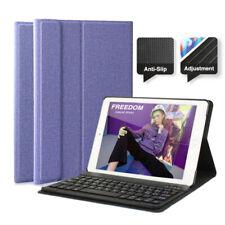 "AU iPad Case for iPad 6th Gen 2018 9.7"" Wireless Bluetooth Keyboard Smart Cover"