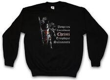 TEMPLAR I SWEATSHIRT Cross Templerkreuz Knight Ritter Crusade Kreuzritter