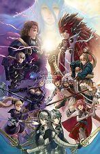 RGC Huge Poster - Fire Emblem Fates Rebirth Conquest Rev Nintendo 3DS - OTH176
