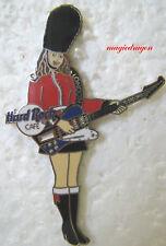 Hard Rock Cafe LONDON Girl Guard Pin .