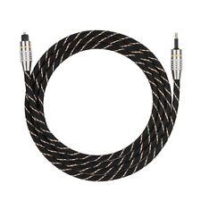 Toslink to Mini Plug 3.5mm Digital Optical Audio Cable SPDIF Fiber Round Square