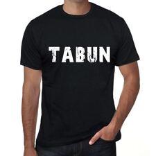 Tabun Herren Vintage Printed T Shirt schwarz Geburtstag Geschenk 00553