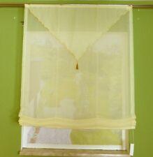 Raffrollo Voile Spitze oben mit Universalband Breite 90 cm Sonderpreis