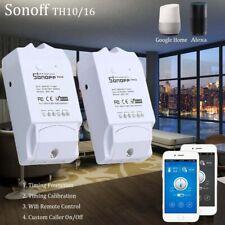 Android APP Temperature Humidity Sensor Sonoff TH16 Wifi Remote Smart Switch