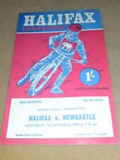 Speedway-Halifax V Newcastle-PTU 3 1970