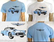 FORD THUNDERBIRD T-SHIRT '55 '56 '57 1st Gen - Sky Blue or White in S M L XL XXL