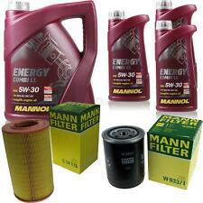 Ölwechsel Set 8L MANNOL Energy Combi LL 5W-30 + MANN Ölfilter Service 10050009