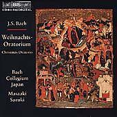 BACH: CHRISTMAS ORATORIO / SUZUKI, BACH COLLEGIUM JAPAN NEW CD