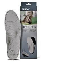 Soft Luxus BERGAL Leder Fußbett mit Aktivkohle Sohlen Einlagen Gr. 36-48