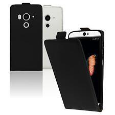Cubierta de cuero artificial HTC Butterfly 3 Flip-Case  Case