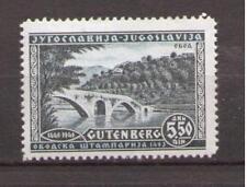 1940 Serbien / Jugoslawien Gutenberg - Marke ** postfrisch