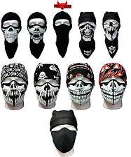 Dark Wear cráneo, Vampiro, Pañuelo, Motociclista, ski Snowboard, Steampunk, máscara facial completa