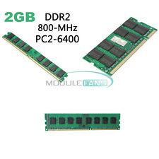 2GB 4GB Memory RAM DDR2 PC2-5300/U 667/800/1600MHZ 200/240Pin PC Desktop Memory